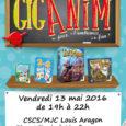 La ludothèque Lalud' organise une soirée jeux mensuelle en partenariat avec Gigamic, tous les deuxièmes vendredi du mois, de 19h à 22h dans nos locaux du CSCS/MJC Louis Aragon (espace […]